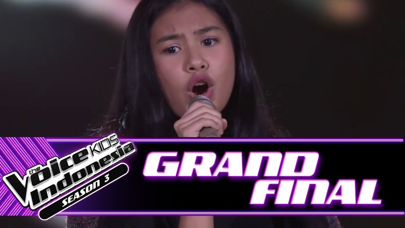Vanessa Risalah Hati | Grand Final | The Voice Kids Indonesia Season 3 GTV