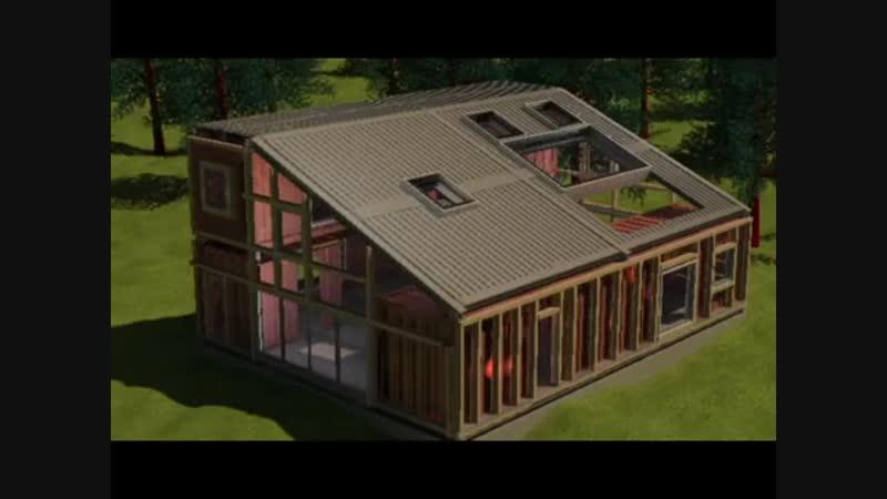 Строительство дома из контейнеров