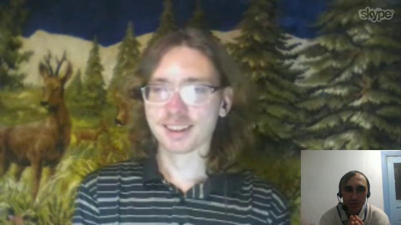 Общение по скайпу с Терновым Сашей! Автором 3 каналов в ютубе!