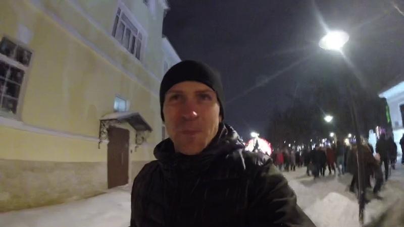 Новогодняя столица 2019 | постновогодняя прогулка по Туле