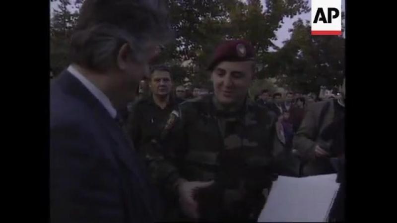 Аркановы тигры встречают Караджича, 1995 год