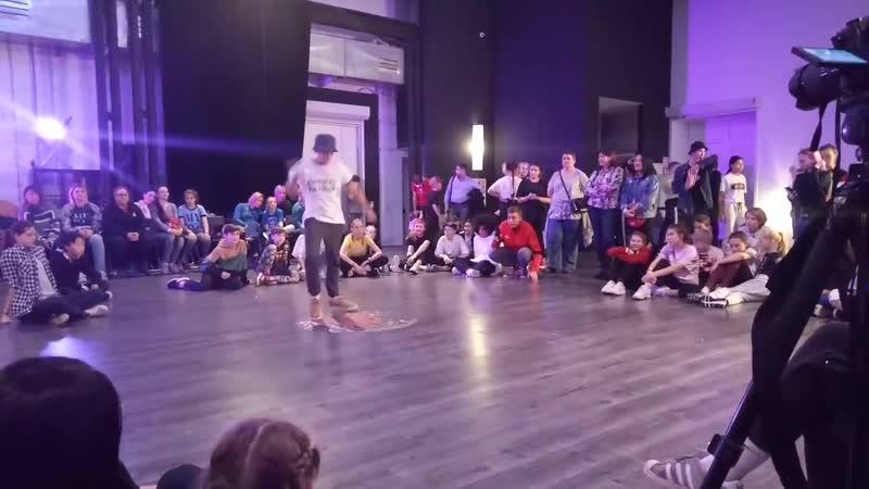 Никитос - Отбор в hip-hop junior - Hip Hope Dance Battle