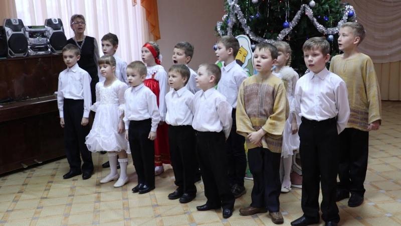 В Святочные дни Епископ Диодор посетил Детский социально реабилитационный центр Радуга