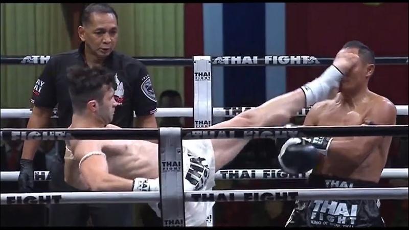 ไทยไฟท์นครราชสีมา แสนชัย SAENCHAI vs JAMAL MADANI THAI FIGHT NAKHON RATCHASIMA