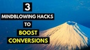🚀 3 MINDBLOWING Hacks To BOOST Conversion Rates practical tips that YOU can use NOW 🚀
