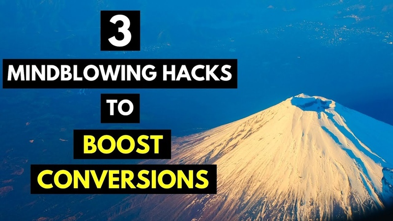 🚀 3 MINDBLOWING Hacks To BOOST Conversion Rates (practical tips that YOU can use NOW!)🚀