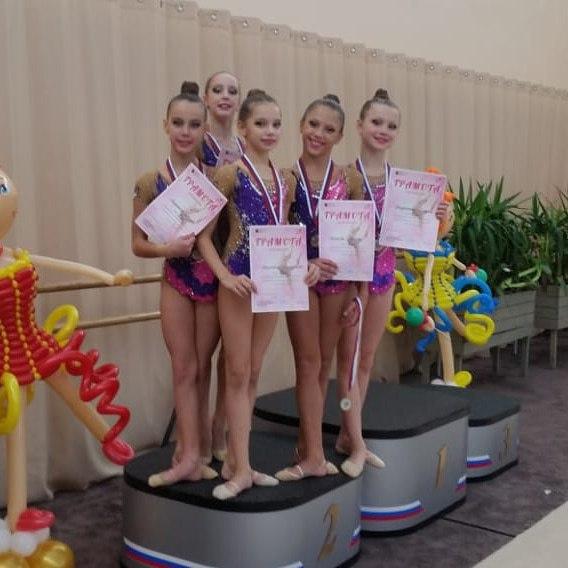 Воспитанницы спортшколы в Савеловском выступили на отчетных состязаниях