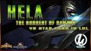 Хель против Звездного Лорда в Лабиринте Легенд Марвел Битва Чемпионов Hela Star Lord mcoc lol