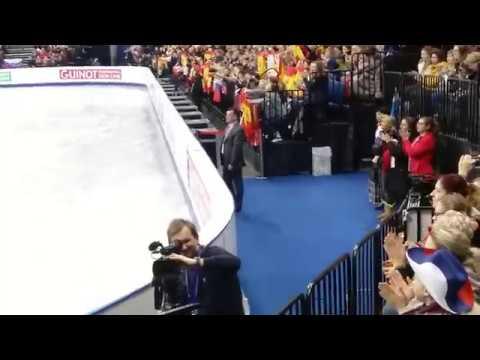 Брайан Орсер Brian Orser European Championatships 2019 FS Хавьера Фернандеса Javier Fernandez