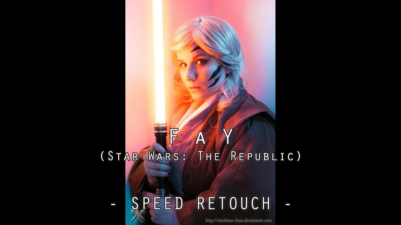 Fay Speed-retouch (Star Wars: The Republic) - COSPLAY