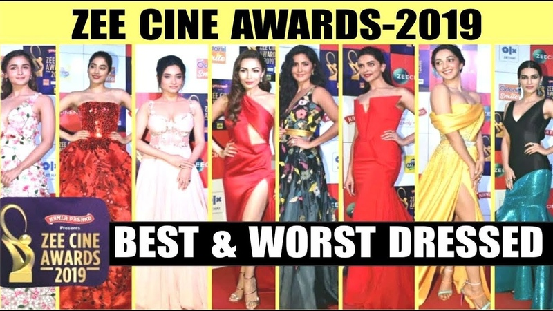 Best and Worst Dressed at Red Carpet Of Zee Cine Awards 2019 l Bollywood Actors at Zee Cine Awards