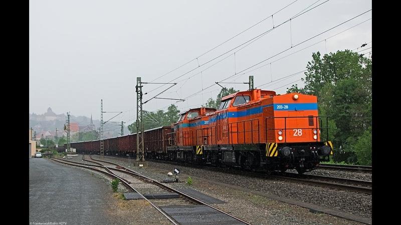232 690, HSL 187er, TX Logistik, Raildox, Dampflok uvm. auf der Frankenwaldbahn