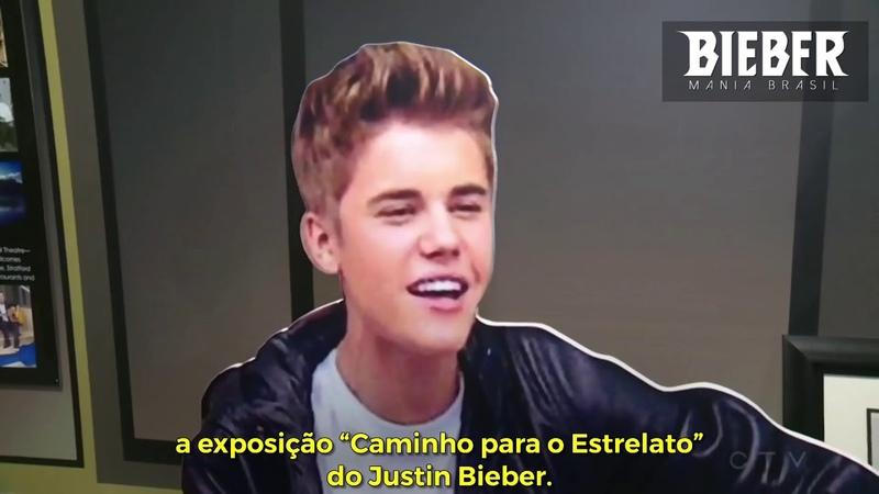 """Novos itens são adicionados na exposição """"Caminho para o Estrelato"""" de Justin Bieber"""