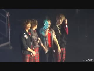 [HDfancam] 120208 SHINee - Medley(Replay, 산소같은너, Hello) RingDingDong ment Lucife