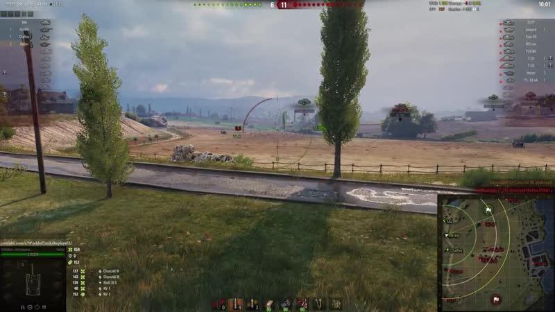[World of Tanks Replays] WoT Jagdpanzer 38(t) Hetzer 2716 DMG 1565 EXP - Fisherman's Bay