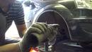 Замена передних амортизаторов на Рено логан
