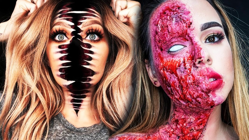 20 Cool DIY Halloween Makeup IDEAS GRWM DYI Costumes 2018
