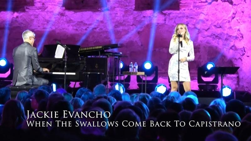 Jackie Evancho - When the Swallows Come Back to Capistrano - San Juan Capistrano