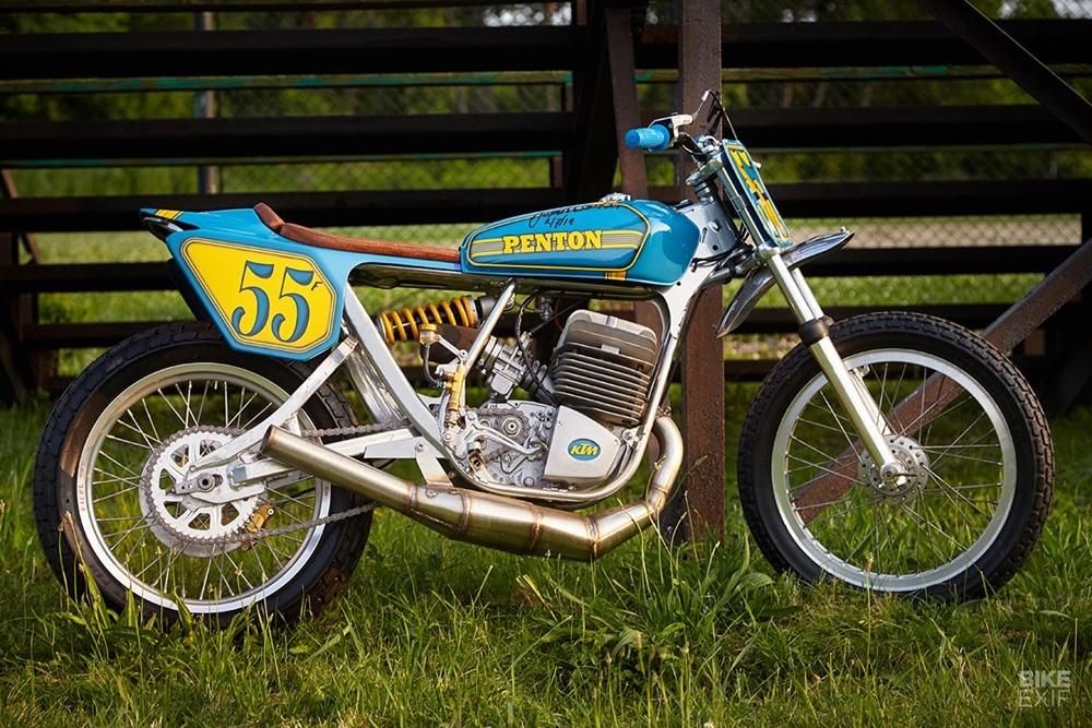 Chi-Jers Vintage Bike Works: кастом Penton Mint 400