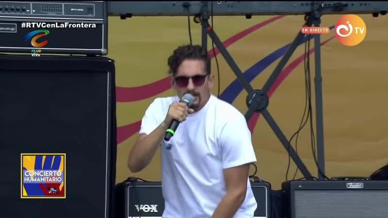 Mau y Ricky - Ya No Tiene Novio Desconocidos (Venezuela Aid Live)
