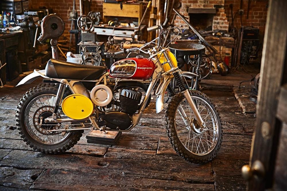 Мотоцикл Aberg-McQueen Husqvarna Viking 360 1968