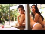 Sexy brazilian sisters Nara and Naiara Alves