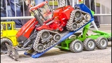 Awesome RC Tractors in Action! John Deere! Case! JCB!