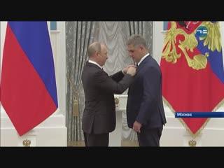 Альберт Суфианов - заслуженный врач РФ