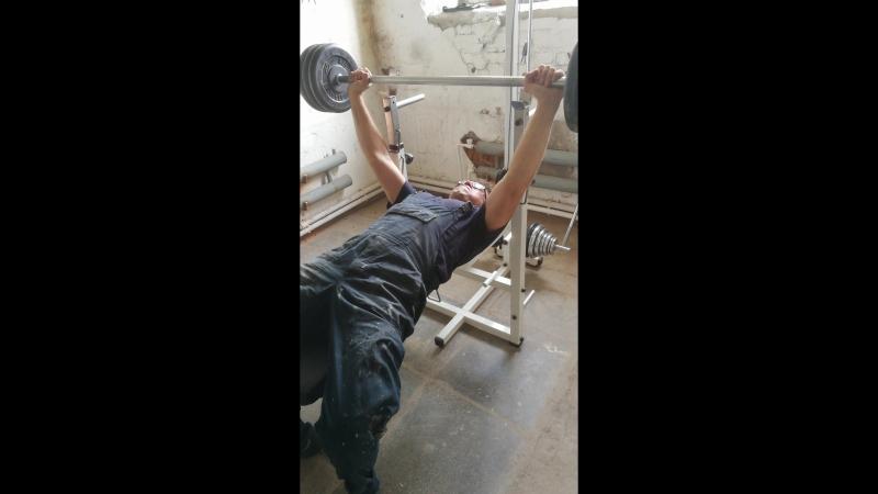 Взятие нового веса 80кг