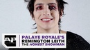 Im just a guy patiently waiting to get on stage.–Remington Leith of Palaye Royale
