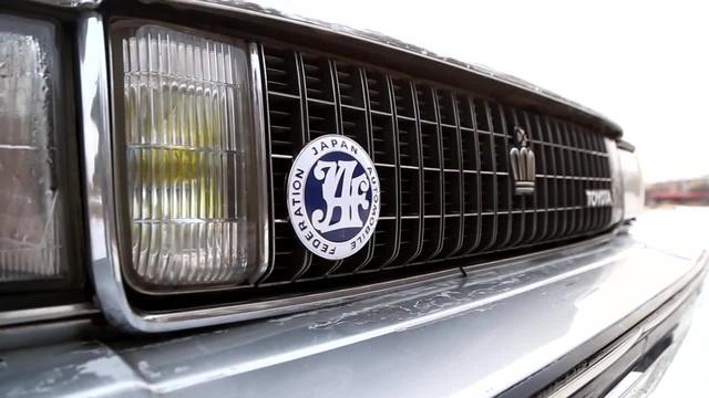 Арабский Toyota Crown на Левом Руле и Карбэ Flume - Heater