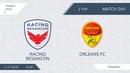 AFL18. France. Ligue 2. Group B2. Day 2. Racing Besancon - Orleans FC.