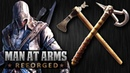 Tomahawk Challenge (Revolutionary War vs. Assassin's Creed 3) - MAN AT ARMS: REFORGED