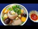 Món Ăn Ngon CANH GIÒ HEO HẦM HẠT SEN thơm ngon bổ dưỡng đầy hấp dẫn