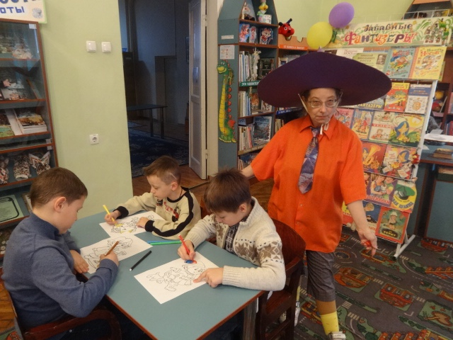 юбилей николая носова, донецкая республиканская библиотека для детей, отдел обслуживания дошкольников и учащихся 1-4 классов, школа 15, детям о детских авторах