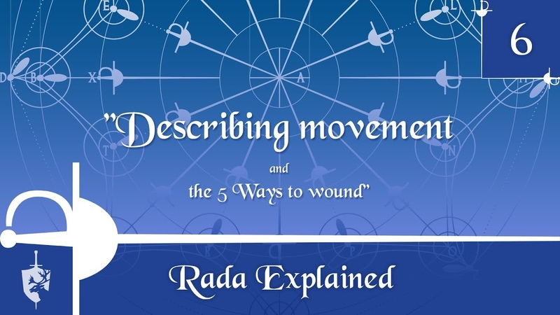 Rada Explained 6 Describing movement the 5 Ways to wound