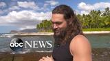 How 'Aquaman' Jason Momoa is paying it forward in Hawaii this holiday