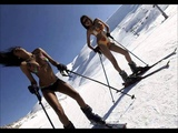Edelweiss - To the mountain top. skier`s slideshow