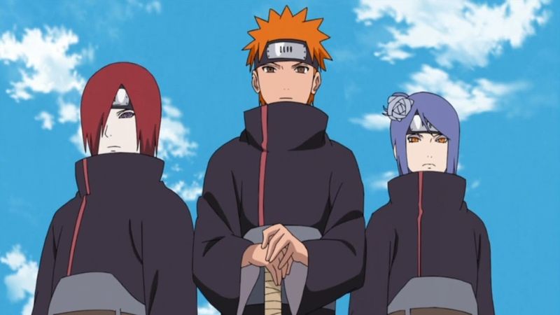 Naruto AMV - Nagato, Yahiko and Konan - Faded