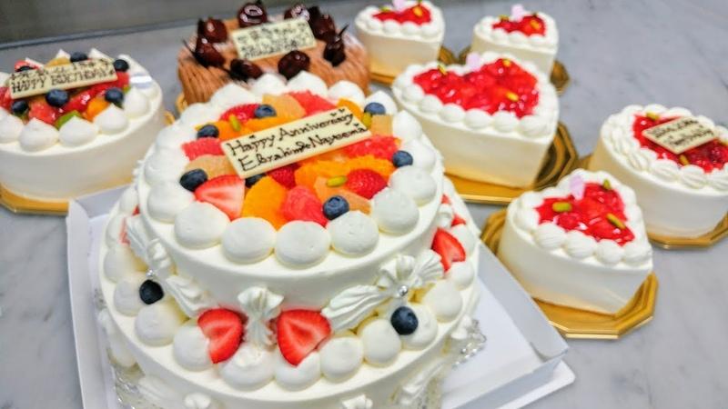 密着24時!誕生日ケーキがいつもより多かったケーキ屋さんの1日 「バ12