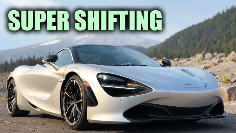 How Fast Can Supercars Actually Shift? McLaren 720S