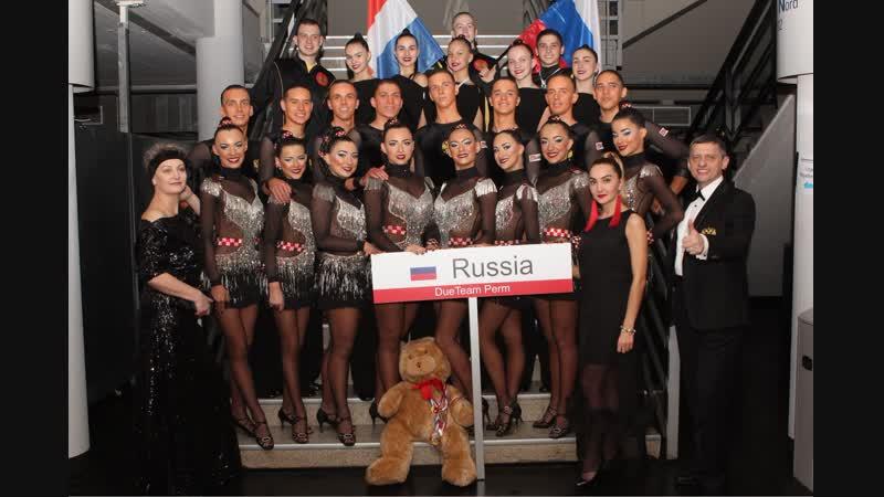 20 2014 год Чемпионат по синхронным танцам Команда РОССИИ