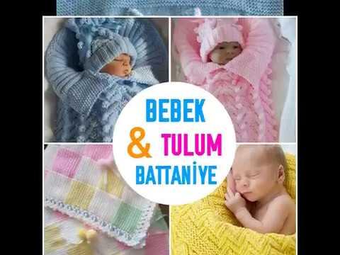 El örgüsü bebek uyku tulumu battaniye modelleri