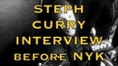 Entire STEPH CURRY Q A MSG elevated that much more tactfully deflects NYC nightlife question
