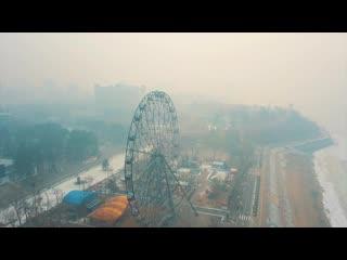 Дым от пожаров в Китае окутал Дальний Восток России