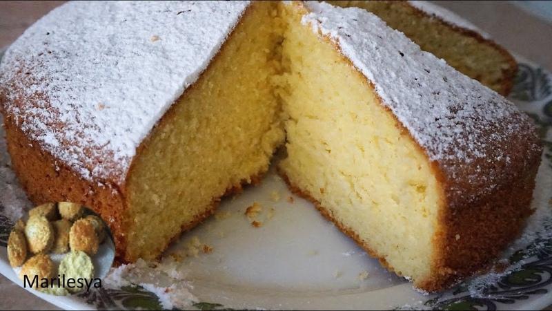 СМЕТАННИК, идеальный сметанный бисквитSour cream Cake