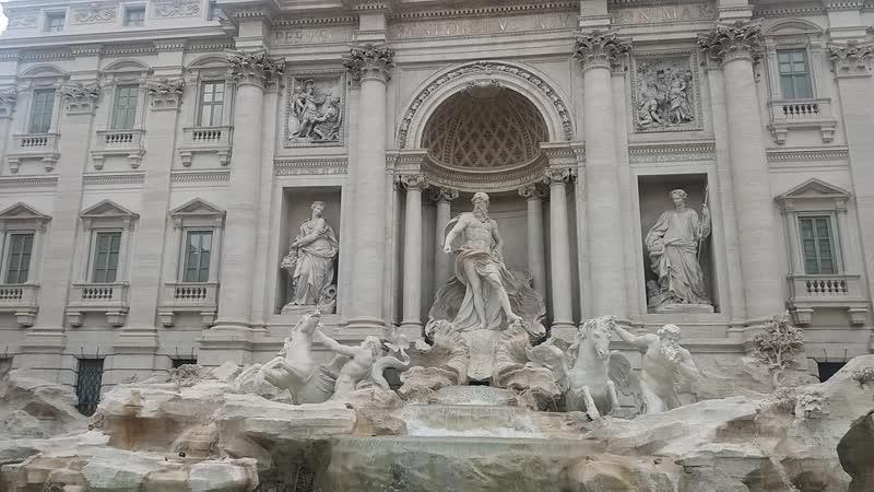 Italia. Roma. Fontana di trevi