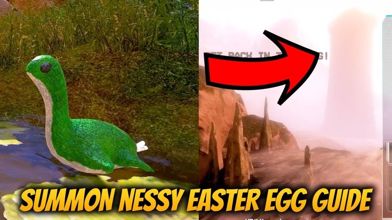 How to solve A Nessy Appears Apex Legends Easter Egg Guide! Nessy Location Map!