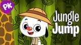 Jungle Jump Let's Move Music for Kids, Brain Break, Dance Songs for Kids, Action Songs Move Fun