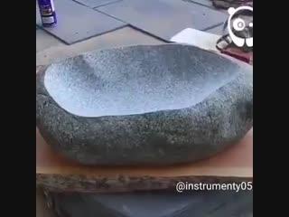 Класс - мойка из цельного камня - vk.com/tricks_lf